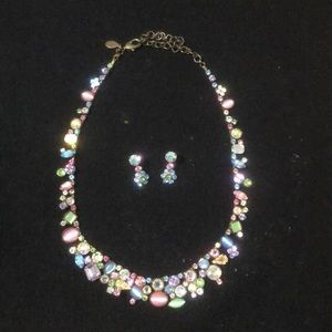 Sorely Necklace & Earrings